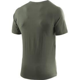 Löffler Transtex Single CF Printshirt Herren olive